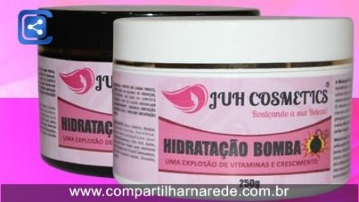 Hidratação Bomba da Juh Cosmetics