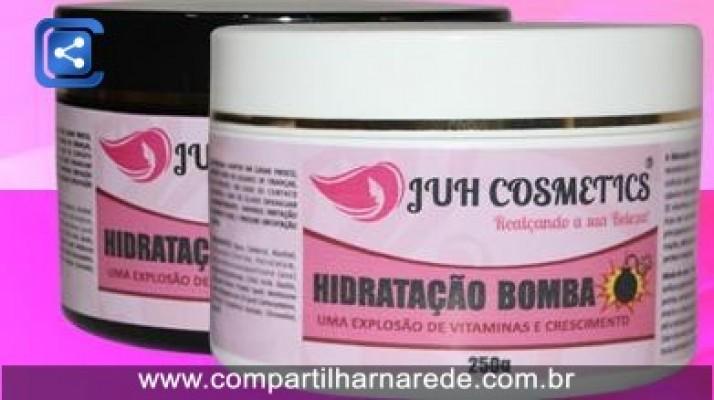 Hidratação Bomba de Crescimento da Juh Cosmetics