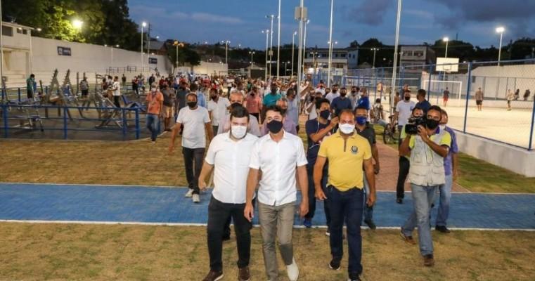 Jaboatão Centro ganha parque com 10 mil metros quadrados
