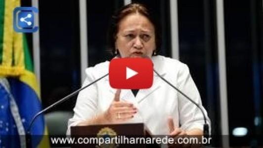 Fátima Bezerra comemora retomada das obras de transposição do Rio São Francisco