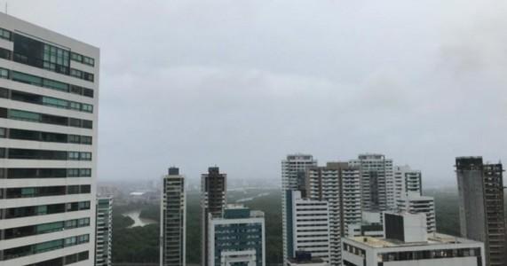 Pernambuco tem alerta de chuva com intensidade moderada a forte