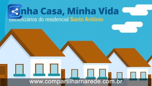 BENEFICIÁRIOS DO RESIDENCIAL SANTO ANTÔNIO