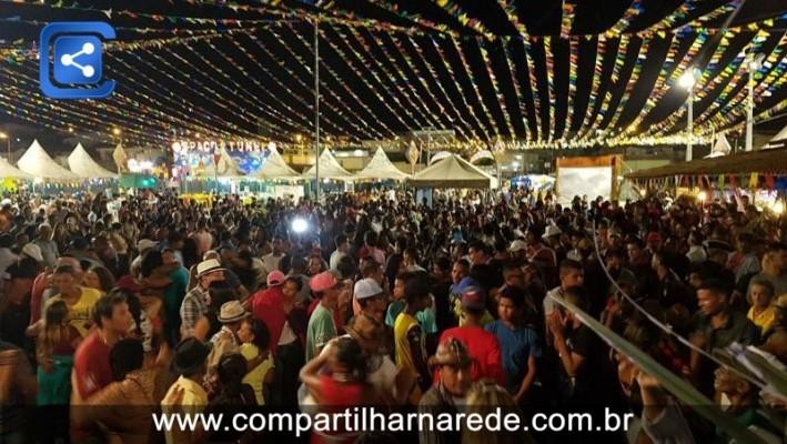 Salgueiro arrastou uma multidão na abertura do São João Cultural