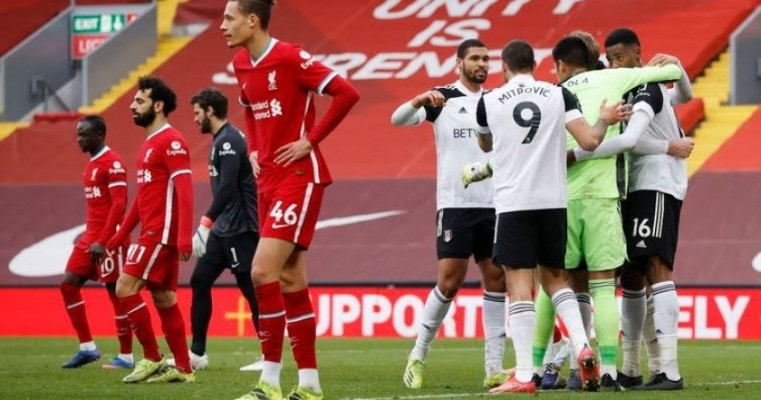 Liverpool sofre sexta derrota seguida em casa, na Premier League