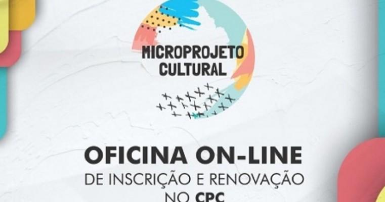 Governo de Pernambuco realiza oficina virtual de inscrição e renovação no Cadastro de Produtor Cultural