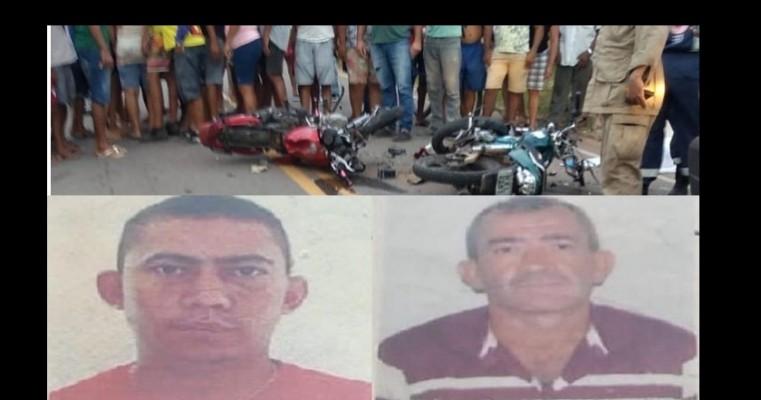 Grave acidente com motocicletas deixa duas vítimas fatais no Crato-CE