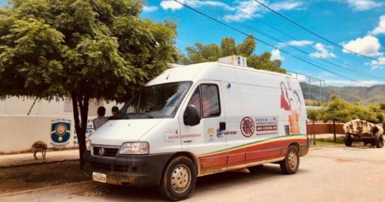Secretaria de Saúde de Serra Talhada inicia aplicação de 500 testes rápidos no bairro Vila Bela