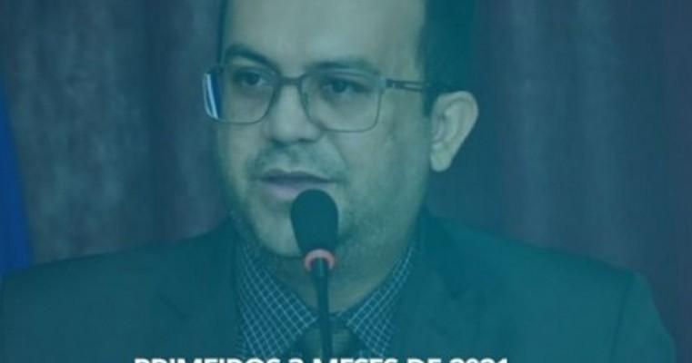 Presidente da Câmara de Vereadores de Salgueiro faz balanço dos primeiros 3 meses de seu mandato