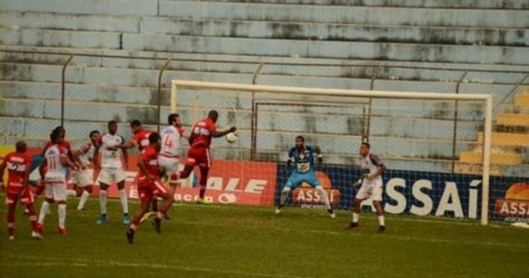 Salgueiro e CRB ficam no 1x1, pela Copa do Nordeste
