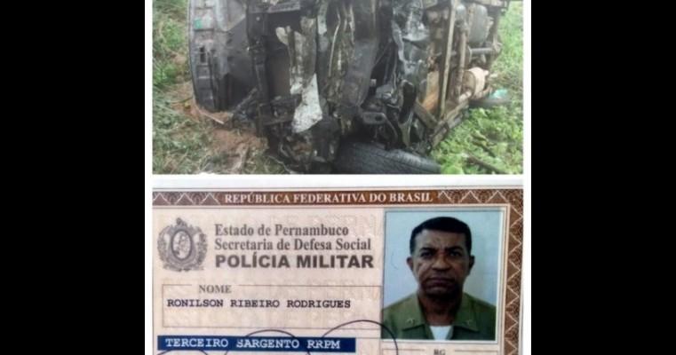 Sargento PM morre vítima de acidente de trânsito, em Bodocó – PE