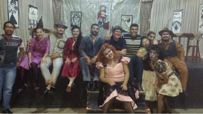 Salgueiro reabre Teatro Alaíde Conserva no Centro de Cultura com a peça Caneco Amassado do Grupo de Teatro Togarma.