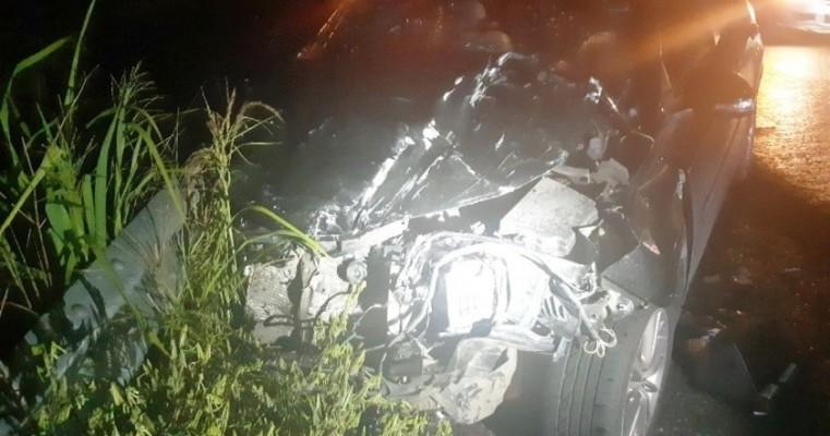 Colisão entre viatura da PM e carro deixa quatro feridos  em Jupi no agreste pernambucano