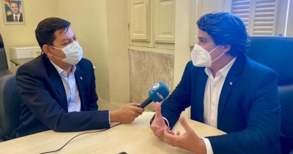 LUCAS RAMOS AVALIA ATUAÇÃO NA SECRETARIA E AFIRMA QUE DISPUTARÁ UMA VAGA NA CÂMARA FEDERAL EM 2022