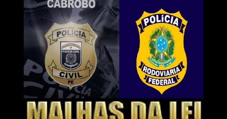 Cabroboense foragido do Estado da Paraíba é preso pela PRF e Polícia Civil