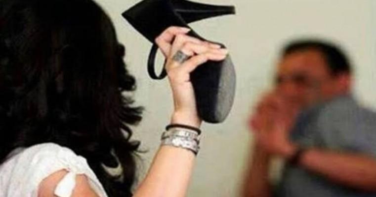 Serra Talhada: mulher é presa após agredir seu marido com socos no rosto e mordidas