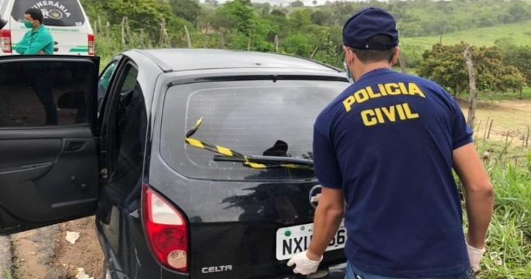 Padrasto mata enteada com tiro na cabeça e comete suicídio na PE- 177, em Angelim no Agreste de Pernambuco