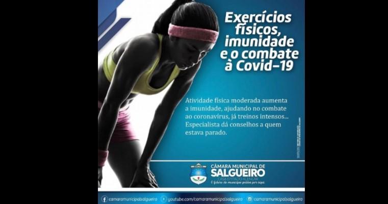 Exercícios físico, imunidade e o combate a COVID 19