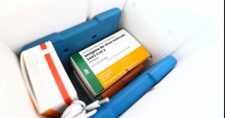 SaúdeButantan envia mais 1 milhão de doses da CoronaVac ao PNI