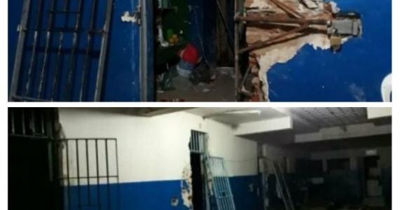 Policia captura 15 dos 27 presos que fugiram da cadeia publica de Serra Talhada no sertão de Pernambuco