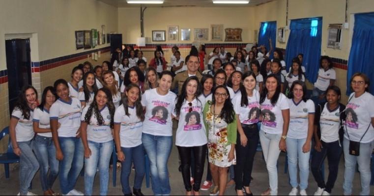 Coordenadoria da Mulher, Nuprev Sertão e Creas continuam com atividades em celebração aos 11 anos da Lei Maria da Penha