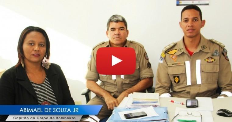 """Entrevista Capitão do Corpo de Bombeiro sobre a deflagração da """"Operação Bar Seguro"""" na Cidade de Salgueiro-PE"""