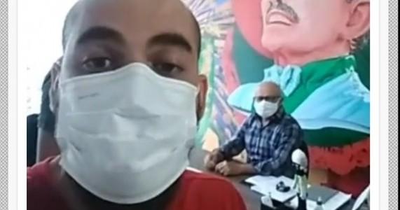 Presidente do DCE da Univasf afirma que foi expulso por prefeito de Salgueiro ao pedir renovação de doação d