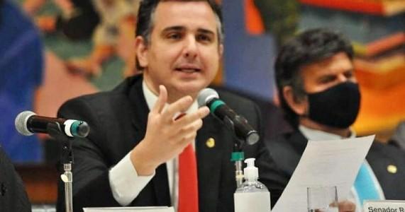Rodrigo Pacheco defende estabilidade política e segurança jurídica para desenvolvimento do país- Blog do Francisco Brito