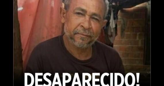 Filha está à procura de seu pai que está desaparecido desde da última quinta-feira 23/09 em cabrobó no sertão de Pernambuco