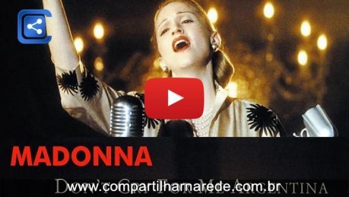 Não chore por mim Argentina - LINDA MÚSICA - A Letra é Fantástica.