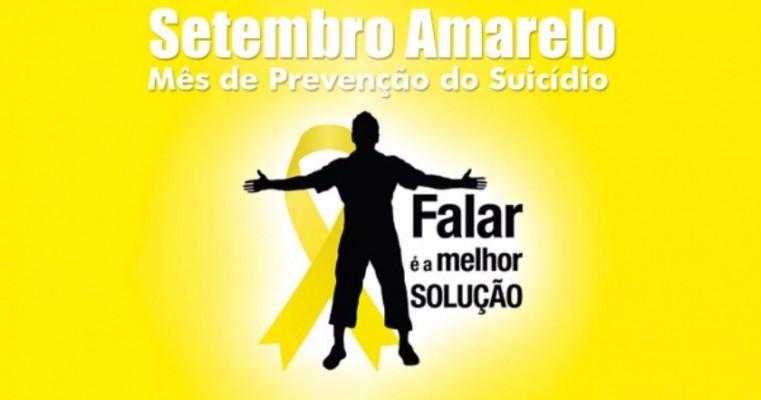 COMEÇA O SETEMBRO AMARELO, MÊS DE PREVENÇÃO AO SUICÍDIO