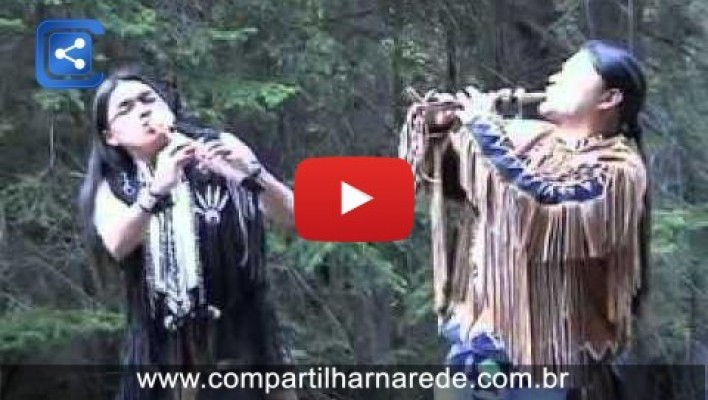 Música para relaxar. BUFALO WHITE. indios do Equador FLAUTAS