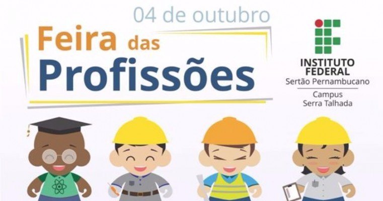 Campus Serra Talhada do IF Sertão-PE realizará Feira das Profissões 2017
