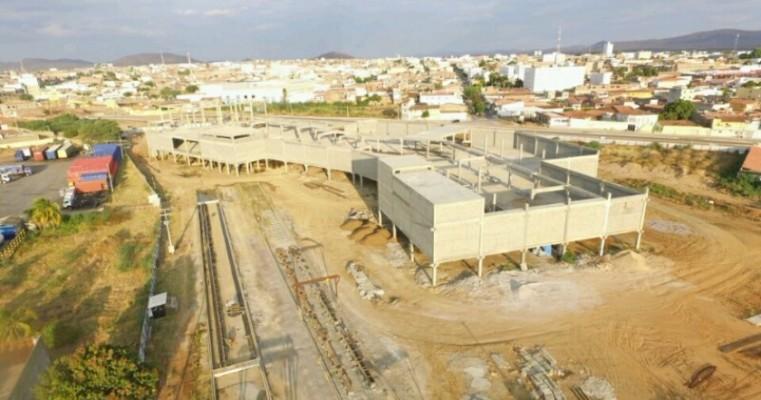 Shopping Serra já conta com 40% das obras em andamento