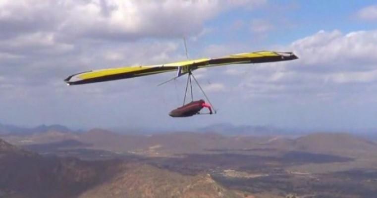 Serra Talhada é escolhida para entrar no circuito de voos com asa delta