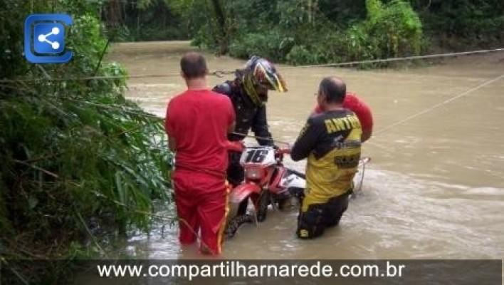 Chuva alaga sete cidades e afeta 1.441 pessoas