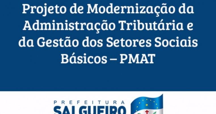Prefeitura do Salgueiro apresenta Projeto de Modernização da Administração Tributária