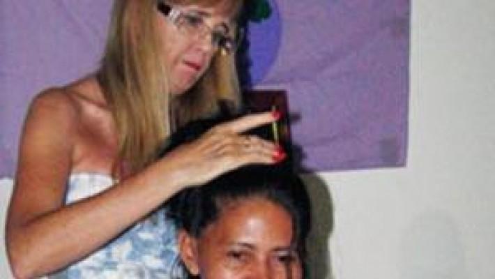 Camponesas fazem ato de solidariedade às mulheres vítimas de escalpelamento