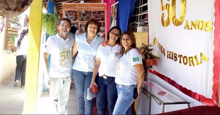 Prefeitura de Salgueiro-PE  elabora programação especial para comemorar os 50 anos da Escola Professora Maria Nilza