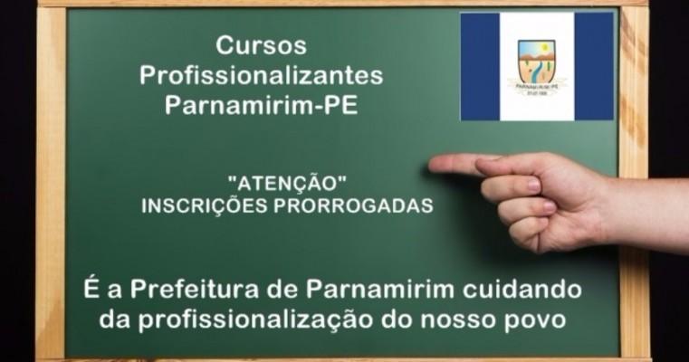 Parnamirim-PE: Prefeitura está disponibilizando cursos profissionalizantes