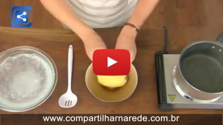 Como descascar uma batata de uma maneira incrivelmente fácil em 30 segundos