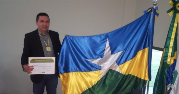 Filho de Ouricuri-PE  recebe medalha de Maior honraria do setor agrícola do Estado de Rondônia