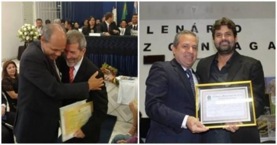 Gonzaga Patriota e Tadeu Alencar recebem títulos de cidadania em municípios do Sertão