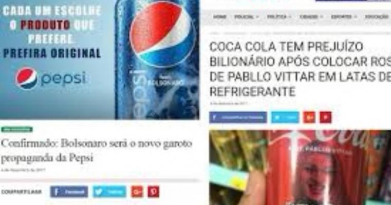 Pepsi terá latas com foto de Bolsonaro em 'resposta' à Coca-Cola?