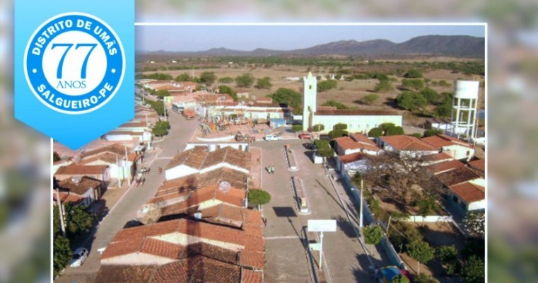 Prefeitura comemora o 77º aniversário do distrito de Umãs