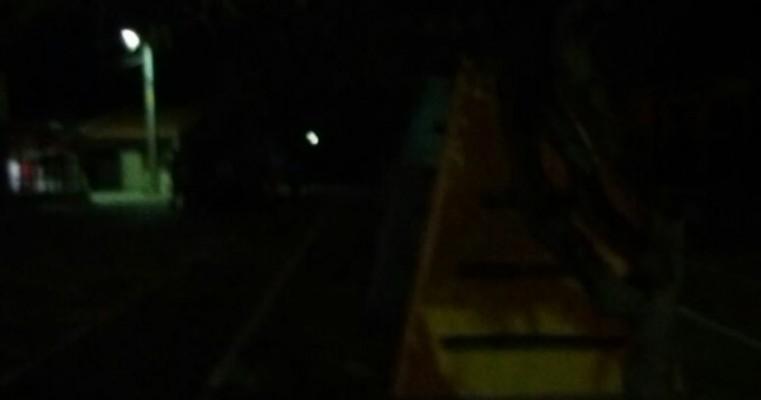 Denúncia, Morador Orocoense Reclama da Falta de Iluminação Pública na Cidade