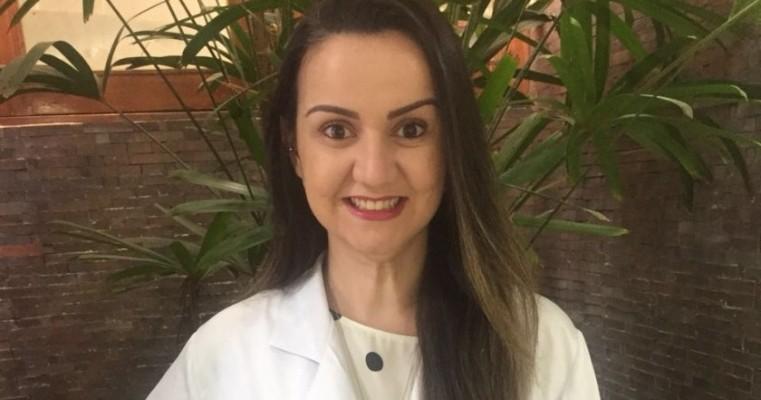 """Dra Patrícia Belfort, Endocrinologista, de Salgueiro,  destaque com a matéria """"Tratamento Medicamentoso da Obesidade"""""""