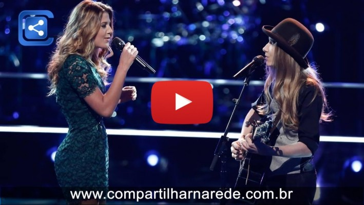 "The Voice 2015 Battle - Sawyer Fredericks vs. Noelle Bybee: ""Você já viu a chuva"""