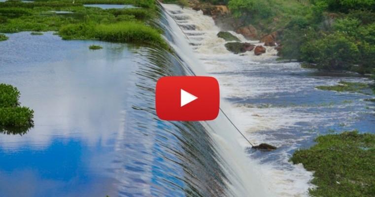 Barragem do Jazigo é atração neste fim de semana em Serra Talhada. Veja Vídeo: