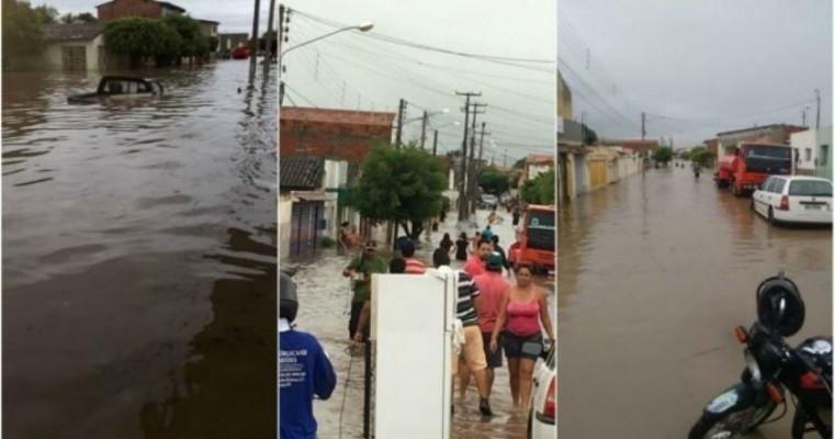 9ª CIPM de Araripina lança campanha para ajudar atingidos pelas chuvas em Bodocó-PE