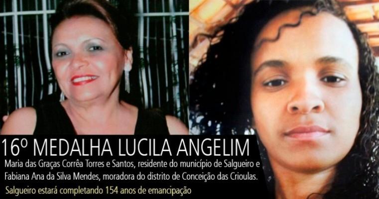 16º Medalha Lucila Angelim será entregue na segunda (30) em Salgueiro-PE
